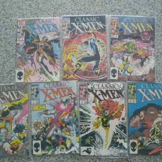 Classic X men 7 issues