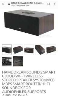 HAME Dreamsound 2 wifi smart cloud speaker BNIB