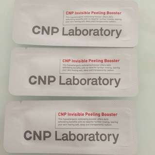CNP Invisible Peeling Booster Sample Sachets