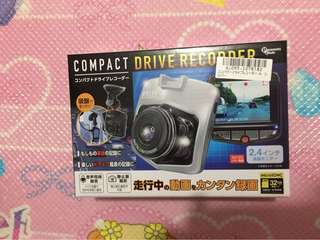 Compact Drive Recorder Sets with 32 GB SD Card (Original from Japan)
