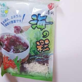【0元全新】原$399 海藻  纖維豐富 低卡#新春八折