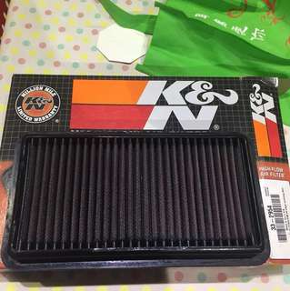 K&N High Performance Air Filter Suzuki SX4