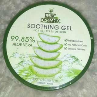 Luxe Organix Soothing Gel
