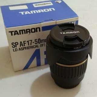 Tamron 17-50mm 2.8F - Canon