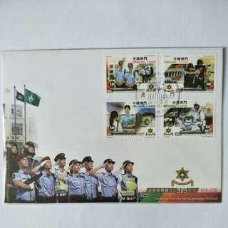 Macau FDC Corpo De Policia