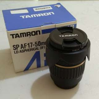 Tamron sharp lens 17-50mm f2.8 (Canon)