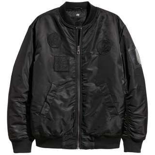 Bomber H&M X THE WEEKND