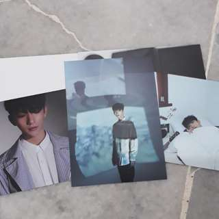 SEVENTEEN DIRECTOR'S CUT JOSHUA POSTCARD SET