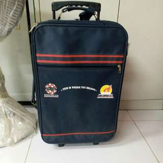 2 Wheels Luggage Size H 21inch W