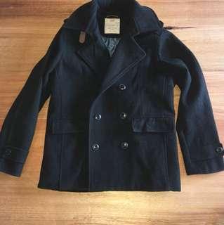 Zara wool duffel coat