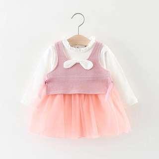 Fashion Korea style baby girl dress