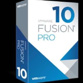 VMware Fusion 10 Pro (Mac)
