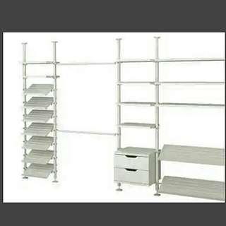 Ikea Stolmen Metal Shelf