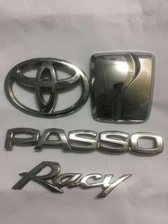 Emblem Passo Racy Complete