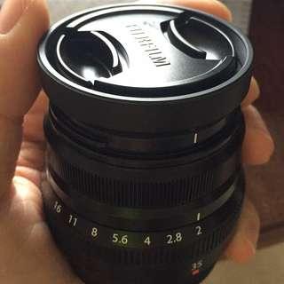 Fuji 35mm f/2 WR