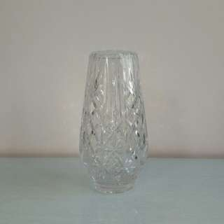 Crystal Clear Glass Vase height 25cm perfect