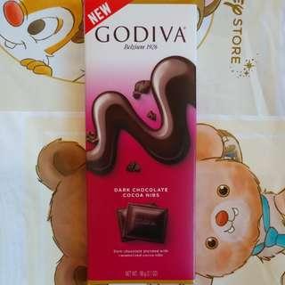 🚚 GODIVA 可可黑巧克力