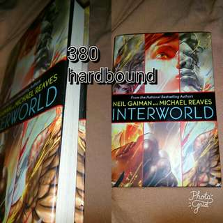 Neil Gaiman: interworld hardbound
