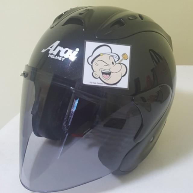 71343c03 1502♡♡TSR RAM4 BLACK v Tinted visor Helmet CONVERT TO ARAI 🦀 For ...