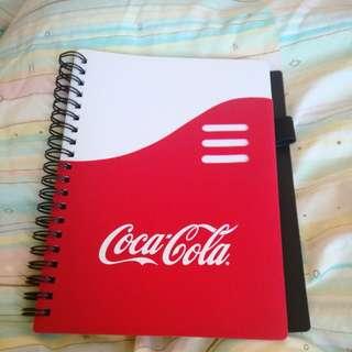 Coca Cola 記事本 可口可樂 筆記補