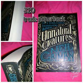 Neil Gaiman: unnatural creatures trade paperback