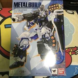 Astray blue frame metal build gundam aaa