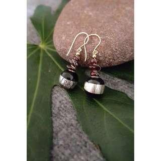 HANDMADE! Bead Earrings 10061