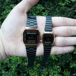 Couples Casio Watch