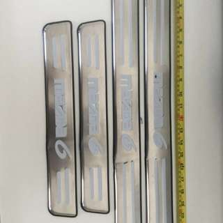 Mazda SCRUFF PLATE metal (embossed)
