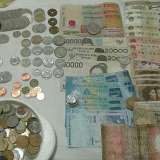 Uang lama dr brbagai macam negara