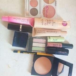 Mixed makeup