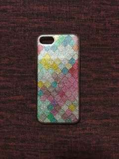 Iphone7 Case Rainbow Glitter