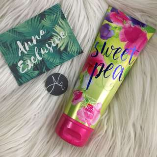 Authentic Bath & Body Works SWEET PEA Ultra Shea Body Cream