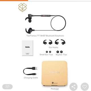 TaoTronics Bluetooth Stereo Headphones