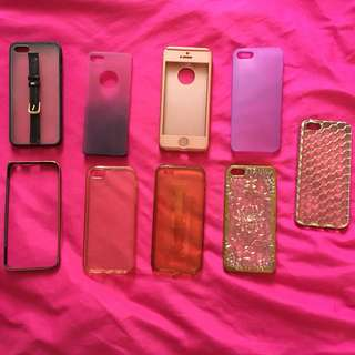 iPhone 5s case ALL for 350 or 50 each