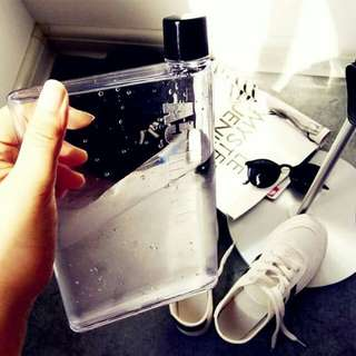 Notebook Water Bottle