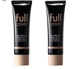 Aritaum korean brand full cover bb cream spf50 foundation
