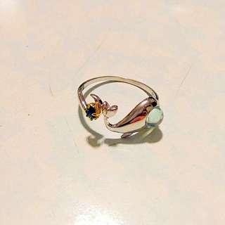小鯨魚手工戒指