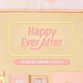 Price out >> Official Bangtan Boys Bts 4th Muster HAPPY EVER AFTER CONCERT MD GOODS