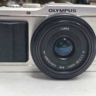 olympus ep3 mirrorless w 20mm f1.7
