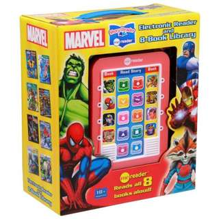 SALE! BRAND NEW Marvel Me Reader 3 Inch 8 Book Box Set Hardcover – Audiobook