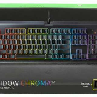 BLACKWIDOW CHROMA V2 YELLOW SWITCH (NEW)