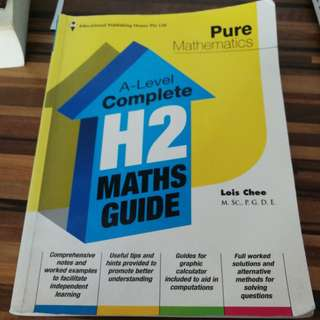 A-Level Complete H2 Maths Guide