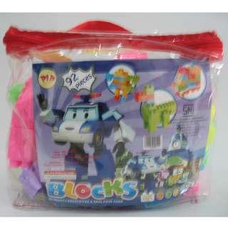 Mainan Anak KREATIF BLOCKS 92 pieces