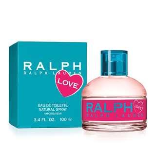 Ralph Lauren LOVE eau de toilette natural spray 100ml 3.4 FL.OZ.