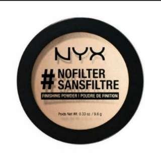 NYX #nofilter Finishing Powder In Light Biege NFFP05