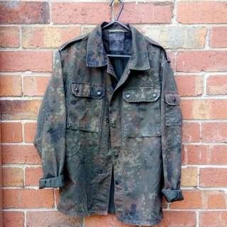 Vintage Military Overshirt/Jacket | Size M