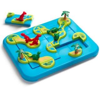 SmartGames - Puzzle game - Dinosaurs Mystic Islands