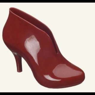 New Melissa red high heels