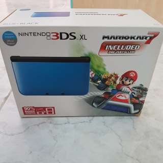 Nintendo 3DS XL with 7 Games.